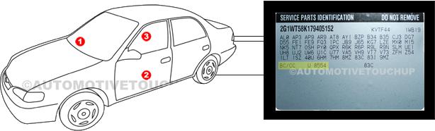 Gmc Touch Up Paint Automotivetouchup