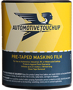 Pre-taped Masking Film with Dispenser