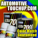 Automotive touch up paint