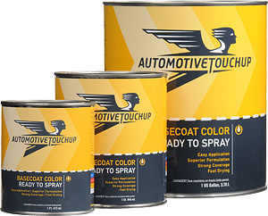 Ready to Spray Basecoat Color (use with spray gun and compressed air)