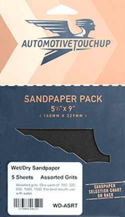 Automotive Grade Wet or Dry Sandpaper