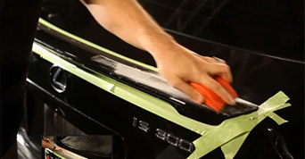 volvo touch up paint video