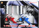 9 Piece HVLP Spray Gun Set