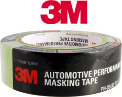 1.5 inch 3m green auto grade masking tape