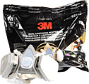3M Half Mask Organic Cartridge Breathing Vapor Respirator