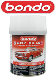 Bondo Body Filler (hardener included)