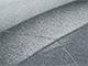 2007 Mitsubishi Colt Touch Up Paint | Silver Metallic A40, CZA10040, HC