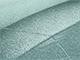 2009 Nissan All Models Touch Up Paint   Light Bluish Green Metallic DAC