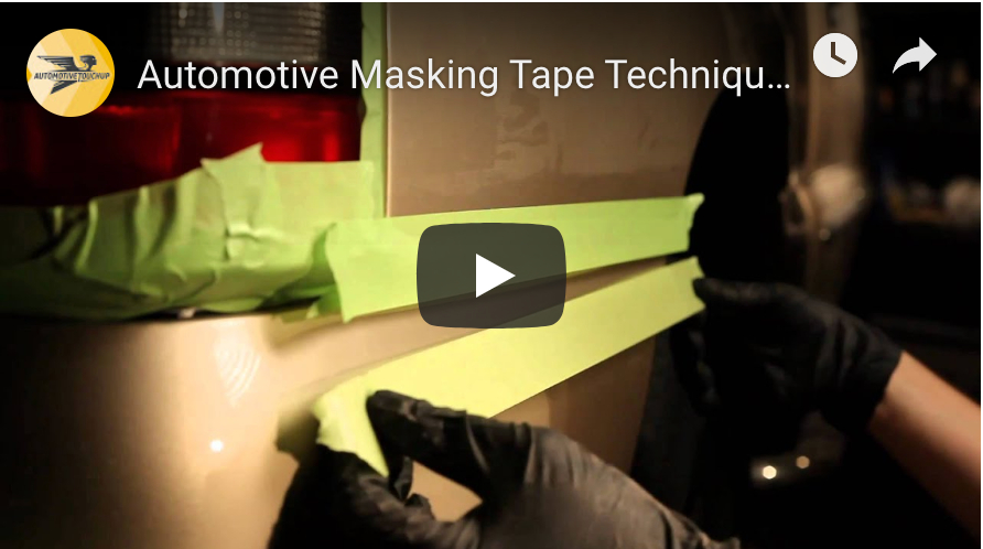 Automotive Masking Tape Techniques