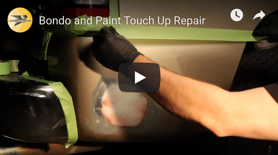 Bondo and Paint Touch Up Repair