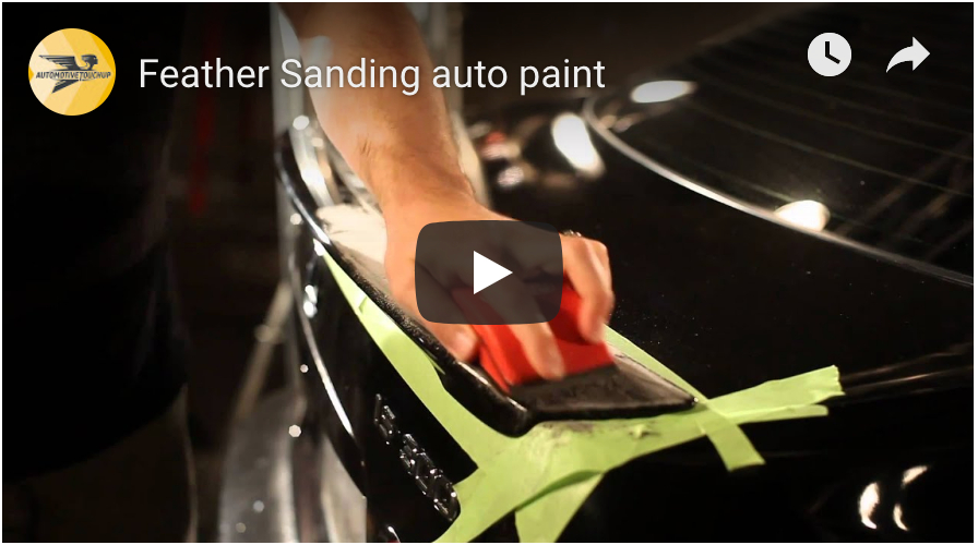 Feather Sanding Auto Paint