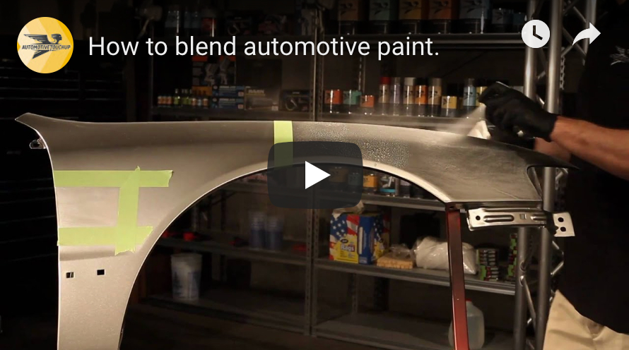 How to Blend Automotive Paint